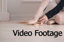 Ballerina dress pointes