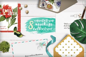 [-79%] Invitation Mockups Collection