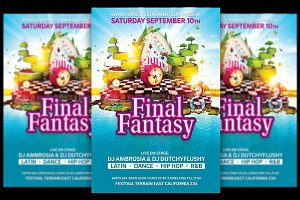 Final Fantasy Flyer