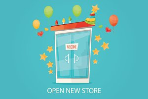 Open new store