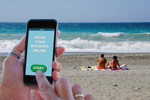 Booking holidays online