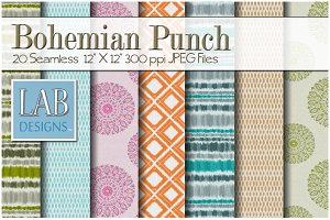 20 Bohemian Pattern Textures