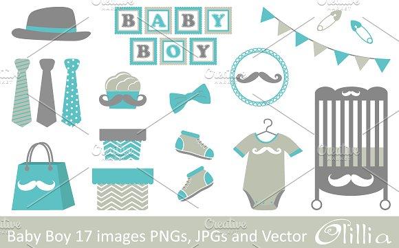 Baby Boy Illustrations Creative Market