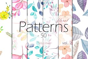floral Patterns 50, vol. 2