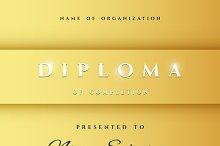 Diploma Premium certificate