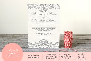 Wedding Invite Template I1004