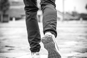 detallof athletic shoe