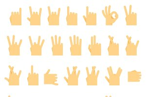 Hands wrist, Icons and symbols,