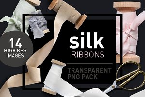 Silk Ribbons - Transparent Pngs