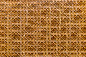 handcraft of bamboo weave