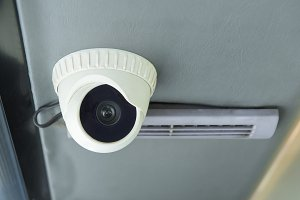 Modern of Security CCTV camera