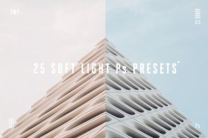 25 Soft Light Presets Ps