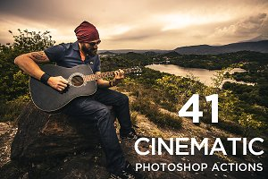 Cinematic Color Actions