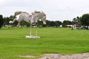 White Stallion Monument