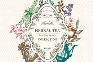 Herbal tea collection