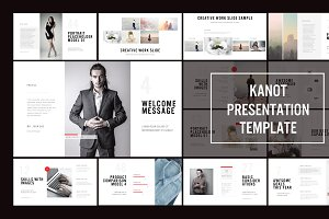 Kanot PowerPoint Template