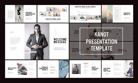 Kanot PowerPoint Template