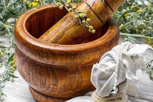 wormwood and mortar