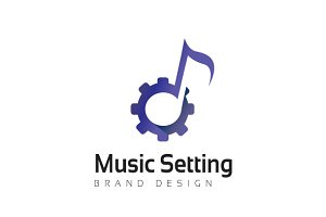 Music Setting Logo