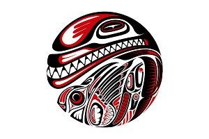 Haida design (5x)