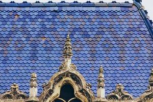 Art nouveau roof