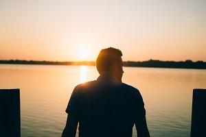 Man at Sunrise
