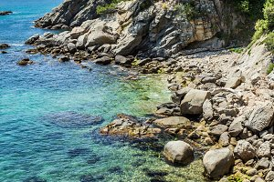 Costa Brava coast