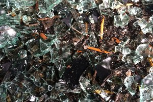 Broken Glass Texture Background
