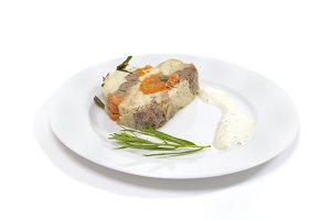 Chicken pate with tarragon