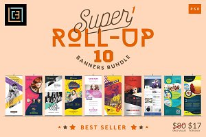 Super 1 - Roll-Up Banners Bundle