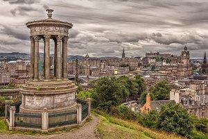 Edinburgh from Nelson Monument
