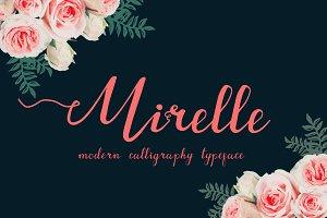 55% OFF Mirelle script + Bonus