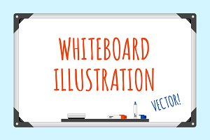 Vector Whiteboard Illustration