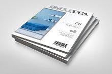 A5 Simple Magazine
