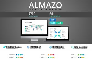 Almazo - Powerpoint template