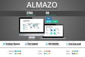 Almazo - Powerpoint template