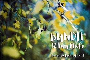 bundle with analog photography