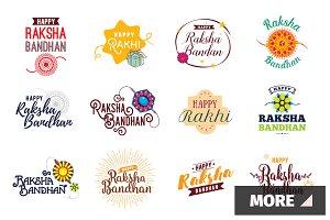 Raksha Bandhan emblems