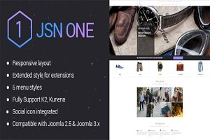 JSN One-Fashion Ecommerce Template