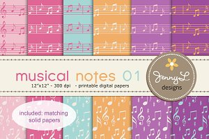 Musical Digital Papers