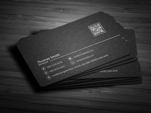Modern dark pixels business card business card templates for Business card pixels