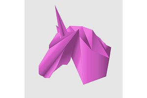 Unicorn head. vector++jpg