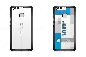 Huawei P9 2d Phone Case Mockup