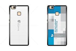 Huawei P9 Lite 2d Phone Case Mockup