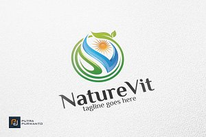NatureVit - Logo Template