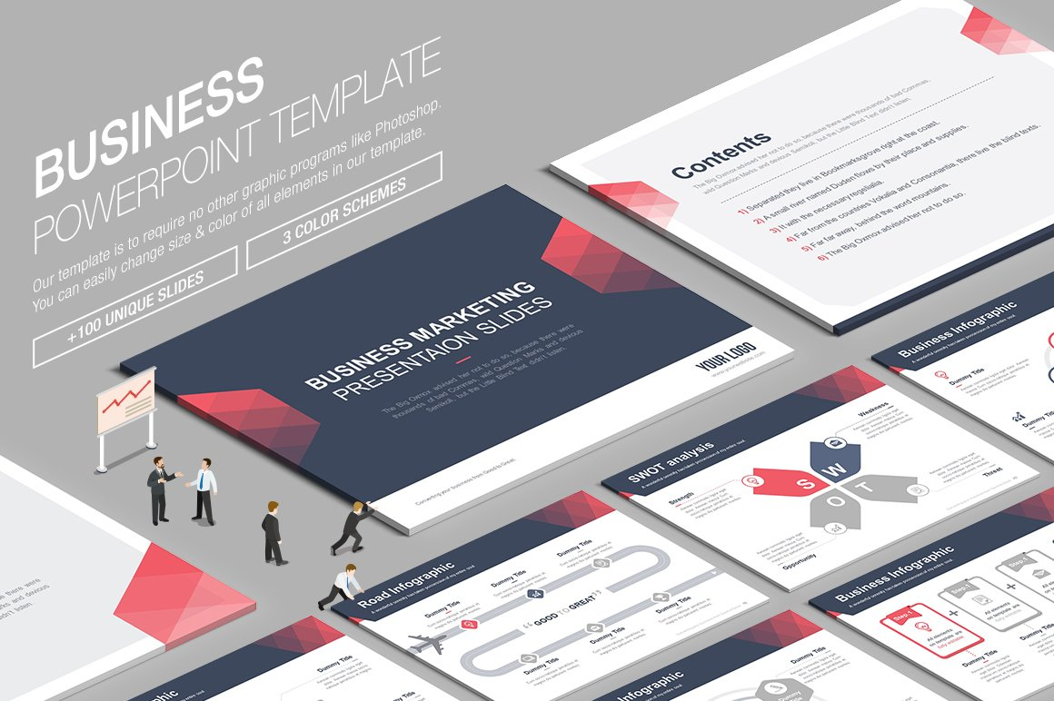 80 free and premium business powerpoint templates ginva business ppt powerpoint template flashek
