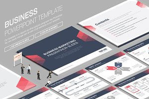 Business Powerpoint Template vol.7