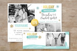 Winter Mini Session Template