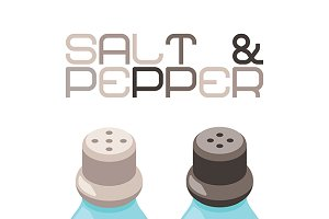 Salt & pepper bottles