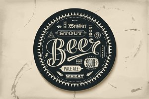 Coaster for beer